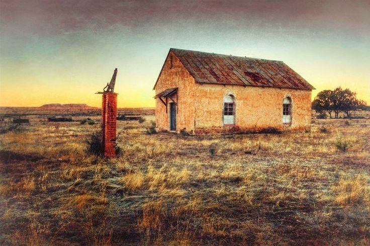Abandoned Church in Reddersburg, South Africa.