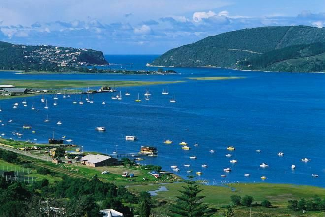 I love everything about Knysna - an eclectic combination of the old and the new