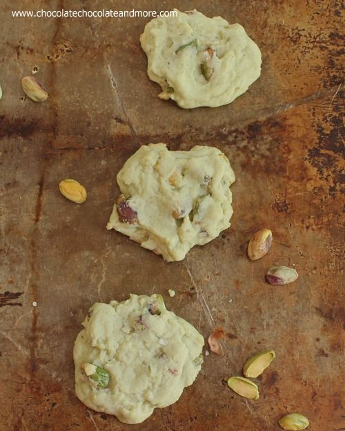 Salted Pistachio Pudding Cookies-the perfect cookie for pistachio ...