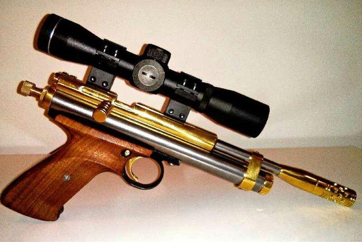 Custom Crosman 2240 pistol.
