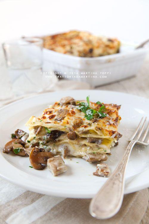 Lasagne ai funghi, ottobre e l'autunno - Trattoria da Martina - cucina tradizionale, regionale ed etnica. Provala con #Andalinilatuapasta!! www.andalini.it