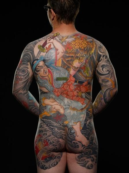 Full Asian inspired back piece by Bill Canales | Tattoos ...