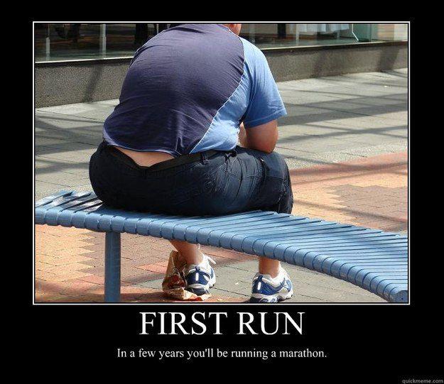Running Motivational Posters | ... run in a few years youll be running a marathon - Motivational Poster