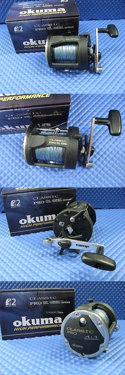 Other Fishing Reels 166159: Okuma Classic Pro Cl 452L Trolling Reel Pre Spooled With 10 Color 27# Lead Core -> BUY IT NOW ONLY: $56.95 on eBay!