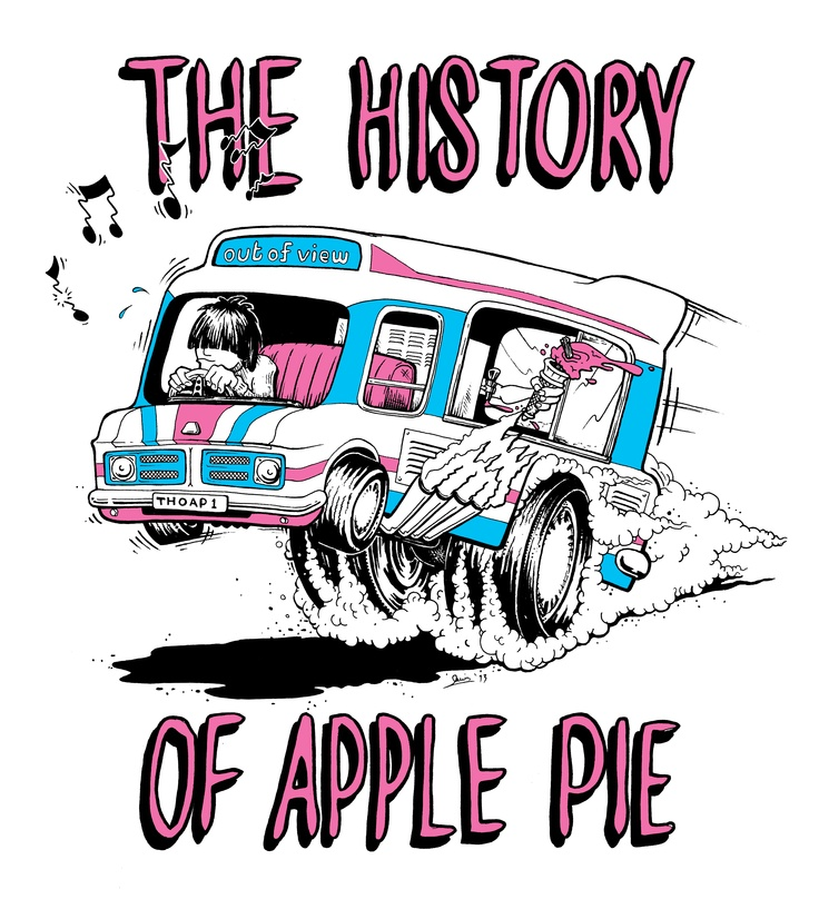 T-shirt for The History of Apple Pie   http://www.thehistoryofapplepie.com