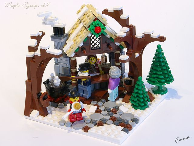 LEGO-Winter_Village-Maple_Syrup-07 by ~EmmaC~, via Flickr