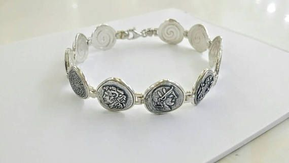 Check out this item in my Etsy shop https://www.etsy.com/uk/listing/532612926/greek-coins-bracelet-in-silver