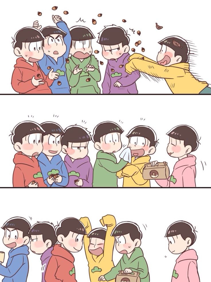 Choromatsu is like a mom *^*