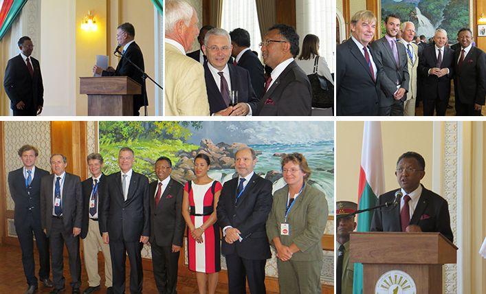 Remise du diplôme honoris causa de HEC au Président de la République de (...) - La France à Madagascar