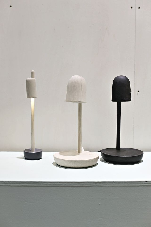 "ODF 2016 – The Return of Cosy Andreas Bergsaker´s lamps ""Piedistallo"" and ""Petiole"" is so so beautiful."
