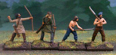 Dacian warriors.