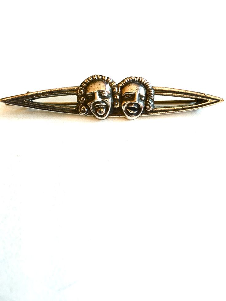 Gustav Gaudernack design for own workshop. Silver brooch with gargoyle motif from Trondheim cathedral. ca 1905-1914