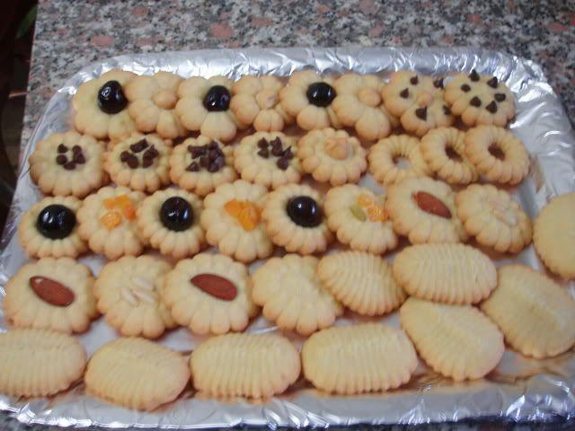 Biscotti con la sparabiscotti (tradizionale e bimby TM31)