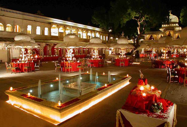 Zenana Palace in Udaipur can be an excellent location for #weddingsinpalaces. Thanks to the excellent  architectural work.