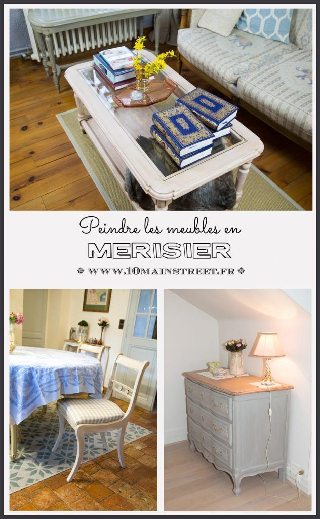 Peindre Les Meubles En Merisier Meuble En Merisier Mobilier De Salon Relooking Meuble