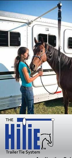 Camp With Horses|Horse high-line|Pennsylvania | Hi-Tie™ Trailer Tie System