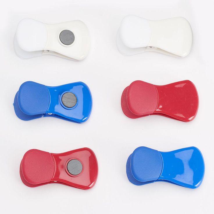 Farberware 6-pc. Bag Clip Set, Multicolor