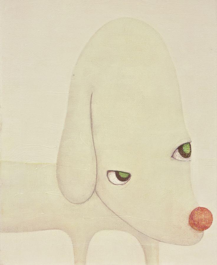Yoshitomo Nara - Sothebys - PALE EGG MOUNTAIN