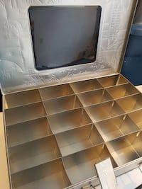 Large Stamp Storage Tin 13 x 18 x 3.25 Realeased 2007 ~~retired~~ Tim Holtz Cropper Hopper Stamp Storage Tin Retired