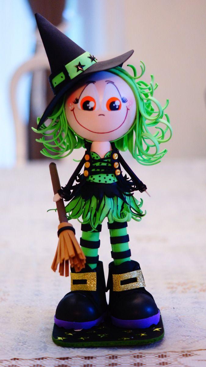 Fofucha Halloween witch