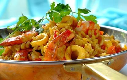 Seafood Breyani
