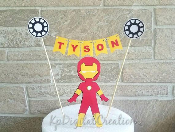 Spiderman cake topper, Superhero themed birthday cake banner includes (6) individual pennants with your choice of superhero logo(s) & String. SPIDERMAN ****Leave Name for banner in COMMENTS TO SELLER at checkout Checkout my other Superhero cake toppers Spiderman cake topper