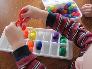 Some tot-friendly ideas to keep preschool hands busy during the day.: Homeschool Ideas, Planes Ideas, Preschool Hands, Schools Preschool, Preschool Grad, Tots Friends Ideas, Homeschool Hands, Hands Business, Ice Cubes Trays