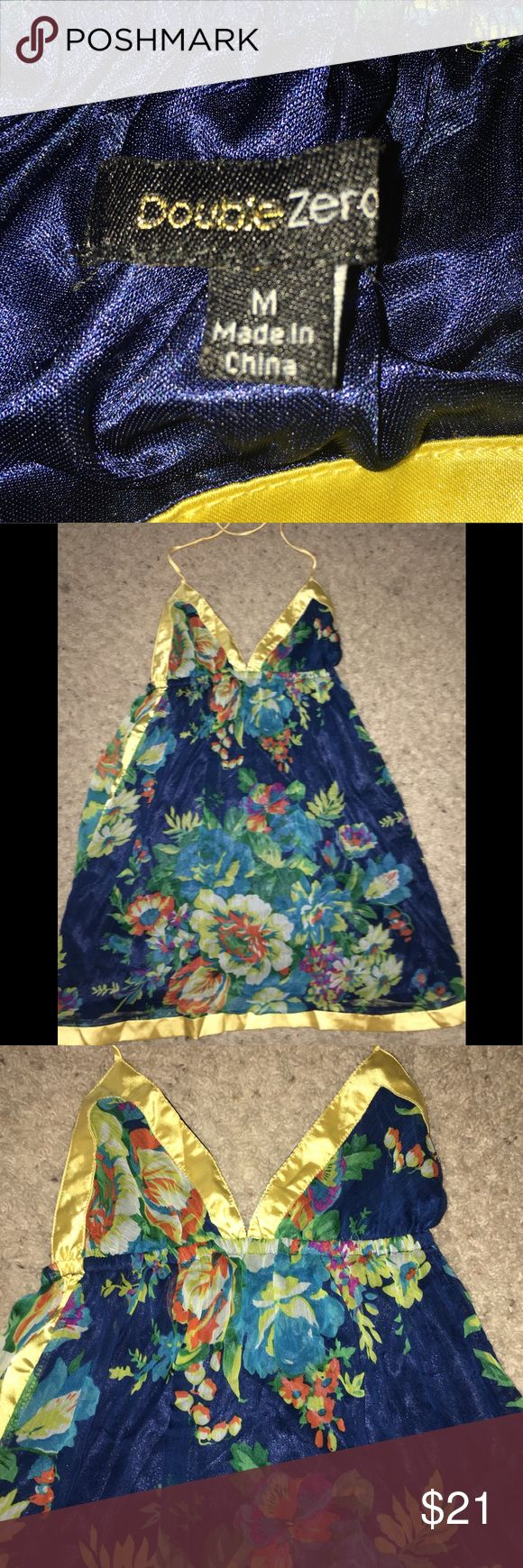 ❤️Hawaiian dress fancy silk and sexy 😍 Size M Hawaiian dress fancy silk and sexy 😍 Size M Double Zero Dresses