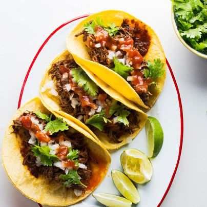 Learn to make Sara Deseran's Guajillo-Braised Beef Short Rib Taco.