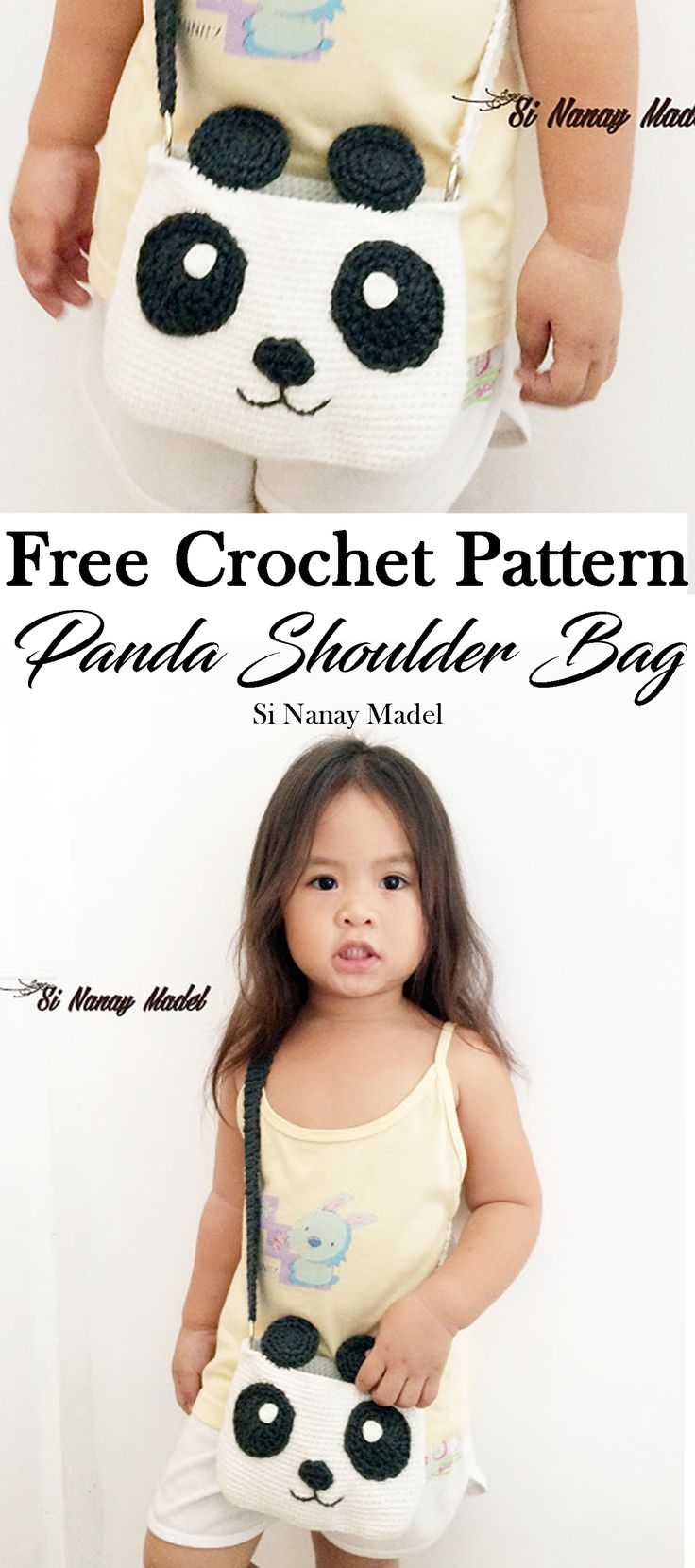 A Cute Bag just enough for the little ones to put on their little things.