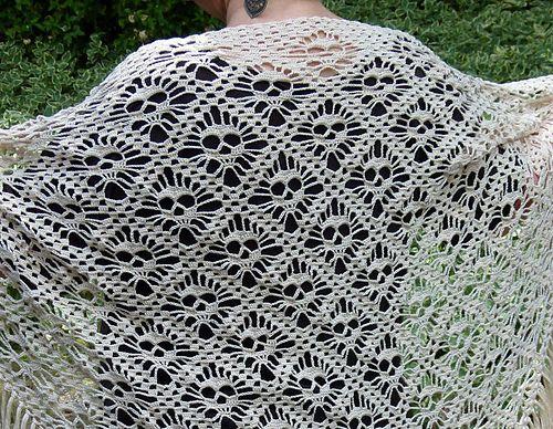 Ravelry: Skull shawl