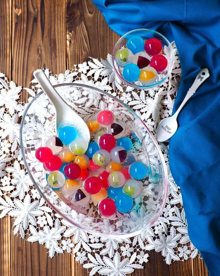 食べるビー玉!香港スイーツ「九龍球(クーロンキュウ)」を作ってみよう | レシピサイト「Nadia | ナディア」プロの料理を無料で検索