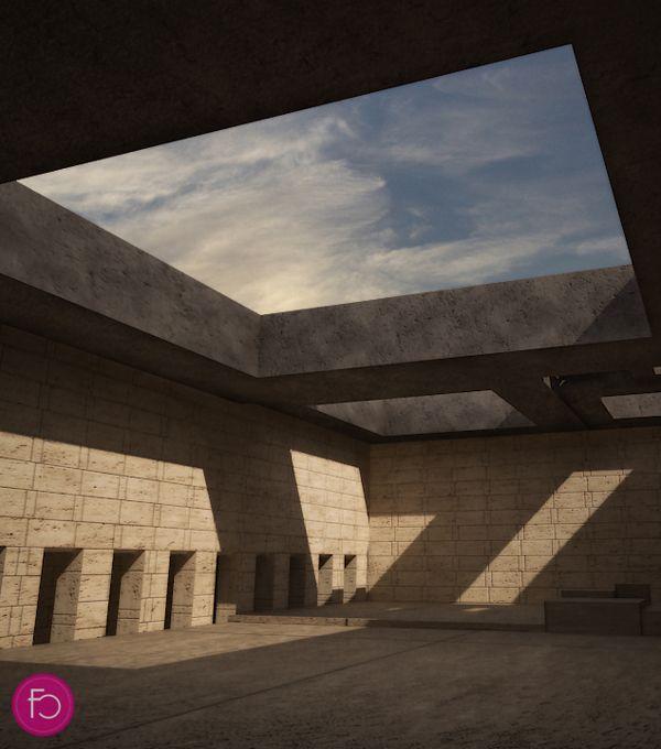 Terragni's Danteum project on Behance