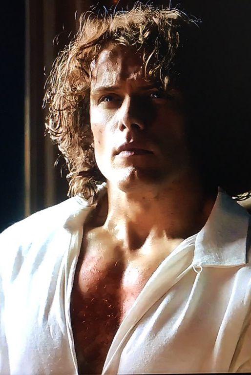 Gorgeous Jamie Fraser / Sam Heughan Outlander Season 2