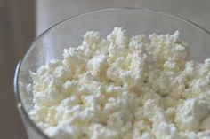 Who knew cottage cheese was so easy to make! Another great use for your kefir.