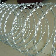 Om wire and wire company is engaged in Concertina Wire manufacturing, exporting and supplying. Our offered Concertina wire is the perfect option for fencing borders for security purposes. The provided wire is manufactured using high quality stainless steel component and supreme quality raw material and letest technology. We offer this Concertina wires in numerous specifications at industry leading prices in India.