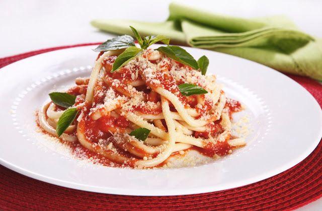 Sem Desperdício!: Dia de Cozinha: Espaguete à matriciana