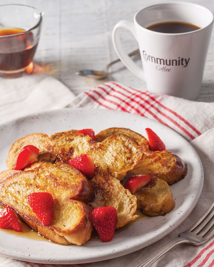 Take your french toast to the next level thanks to Community® Coffee French Vanilla. Community® Coffee French Toast is full of rich, sweet flavor.