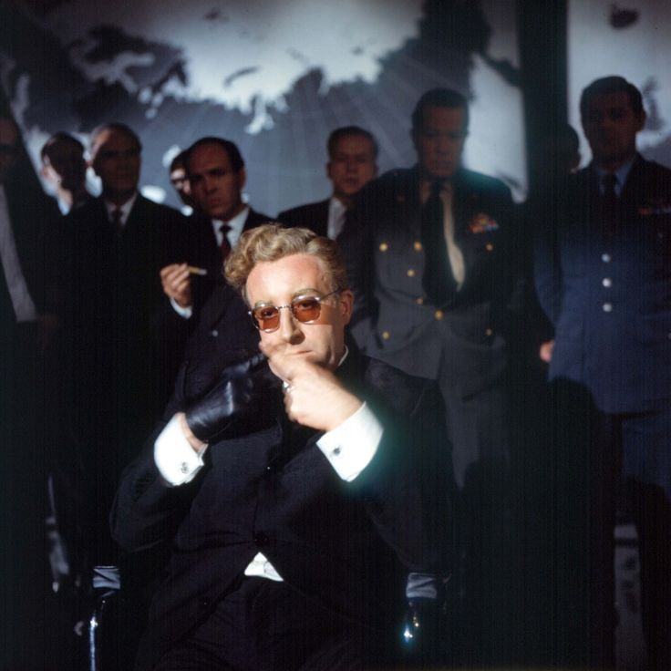 Peter Sellers As Dr. Strangelove In Dr. Strangelove Or