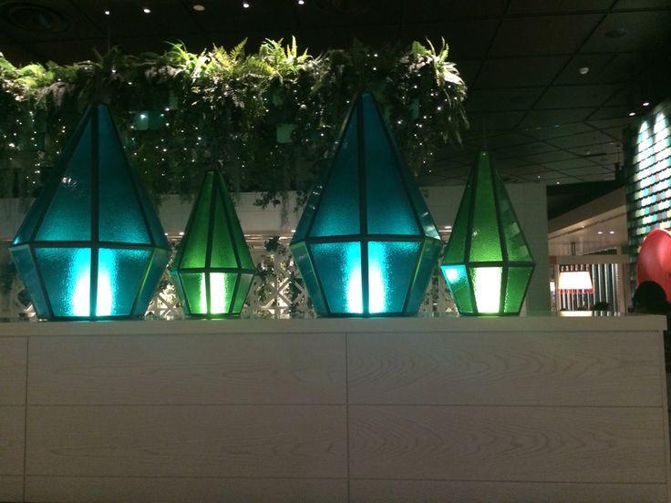 Gorgeous glass lanterns