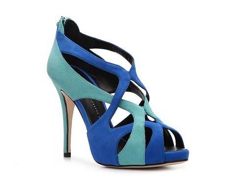 Giuseppe Zanotti Suede Cutout Sandal Womens Dress Sandals Sandals Womens Shoes - DSW