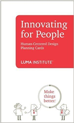 Innovating For People Human Centered Design Planning Cards