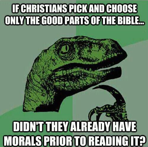 Where do you get your morals?