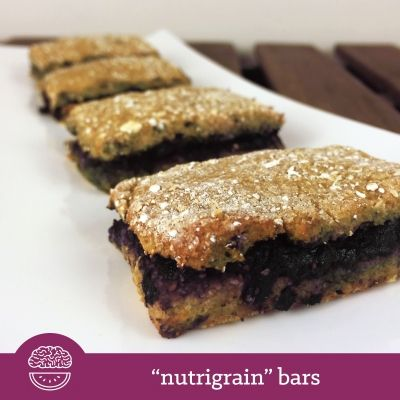 """Ripped Recipes - Homemade """"Nutrigrain"""" Bars - I do love Nutrigrain Bars, but while they may deceive you into thinking they are nutritious bars made from grains, they are actually less nutritious than you may think... racking up 11g of sugar, with sugar, fructose and corn syrup among the list of over 50 ingredients! Anything with that many ingredients makes me wonder what it really is. These bars truly are 'nutritious grain bars' that you can enjoy knowing exactly what they're composed of…"""