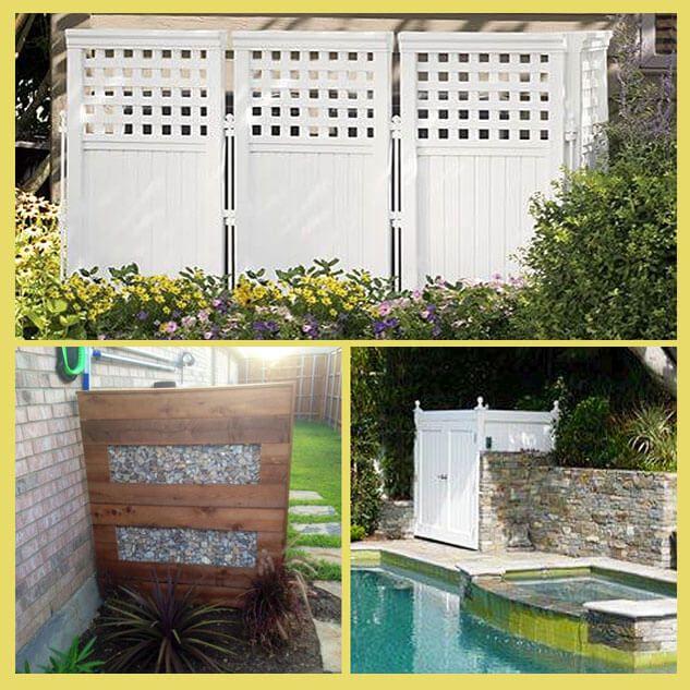 Pool Equipment Enclosure Ideas Pool Equipment Enclosure Backyard Privacy Backyard Privacy Screen
