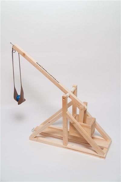 leonardo da vinci catapult kit instructions