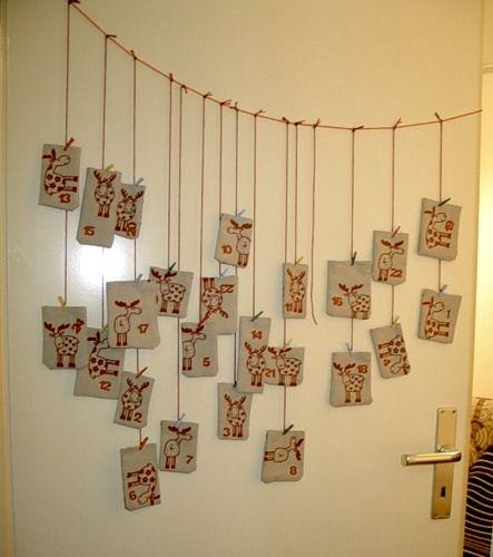 """Детские """"рождественские"""" календари с заданиями/сюрпризами - ищу идеи :)"""