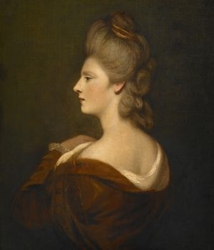 Portrait of Mrs. Charles James Fox  Artist   Reynolds, Joshua |   British |   1723-1792Creation date   about 1775-1780Materials   oil on canvasDimensions   30 x 25 in.Credit line   The Clowes Fund Collection