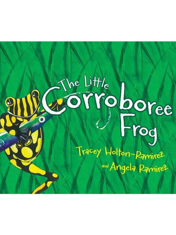 Little Corroboree Frog Book. A wonderful children's story that gently introduces the serious plight of one of Australia's most endangered species.