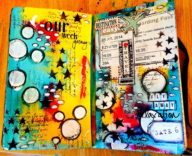 Art Journal and Mixed Media By Tracy Scott